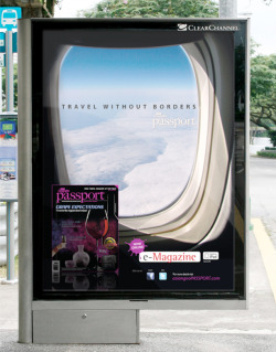 advertisement | travel magazine