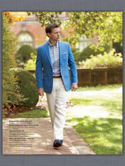 evolutionofagentleman:  Brooks Brothers blogger blue sport coat..  Ugh I need a blue blazer..