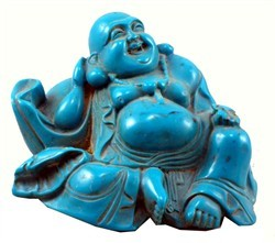#Tibetan #Happy #Buddha #Turquoise #Statue $42 Get it Here Click Pic