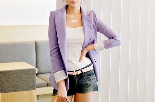 I've been dying to buy a pastel blazer this year. i hope my 2012 wishlist will be fulfilled, if not half checked. Lovelots, F
