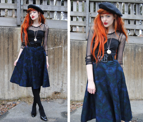 Peacock Skirt (by Cosette Munch)