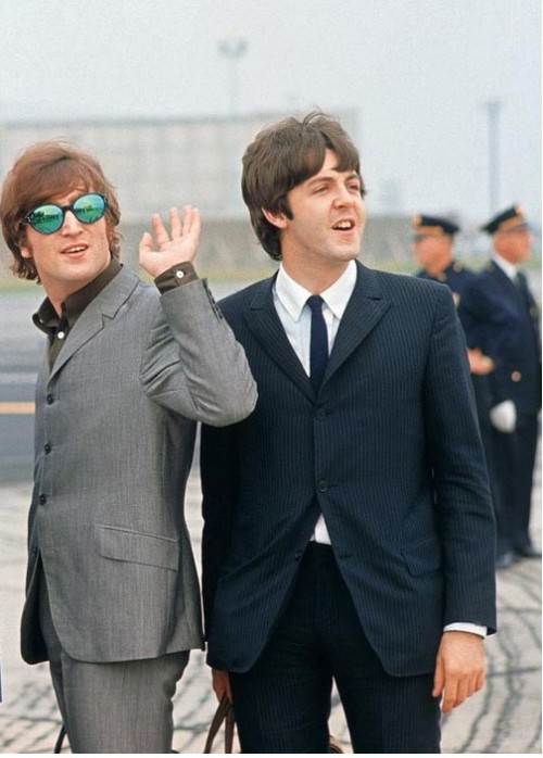 theswingingsixties:  John and Paul