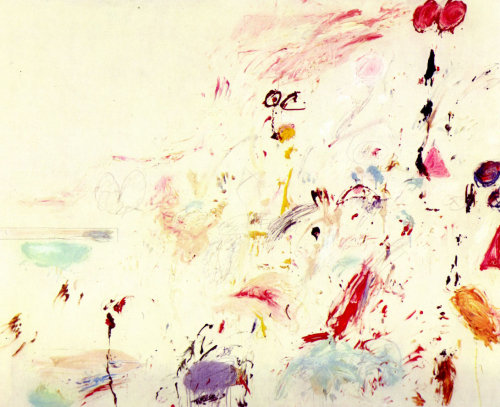 Bay of Naples [1961] by Cy Twombly
