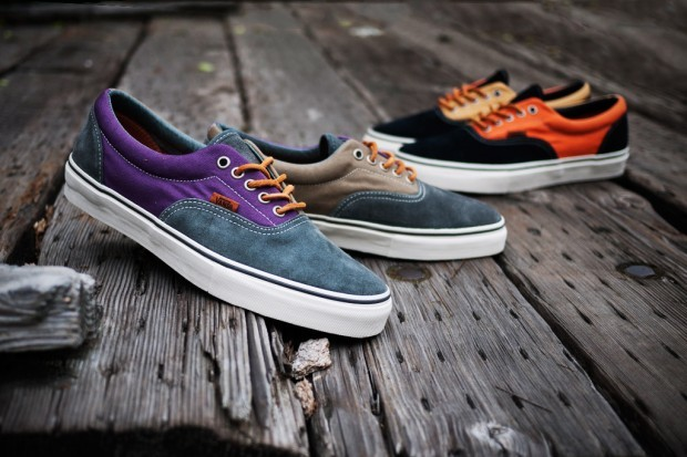 hypebeast:  Vans Vault 2012 Spring/Summer Era LX Twill Canvas Pack