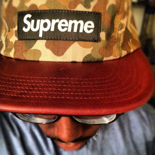 #Supreme #Camo #Leather #Brands #Streetwear  (Taken with instagram)