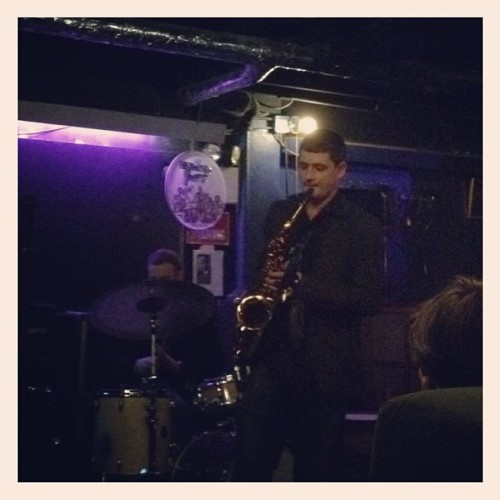 Jazz nightcap at Fat Cat. (Taken with instagram)