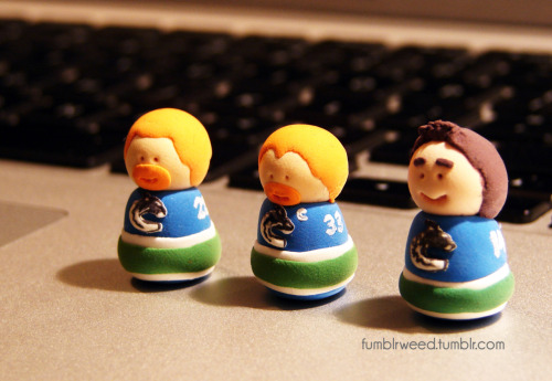 Canucks top line! Hopefully Daniel can get well soon so this line can be reunited.