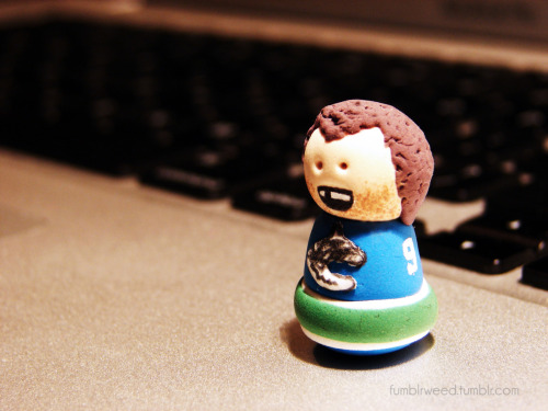 Mini Zack Kassian I made for the Fort Nucks/Canucks DeviantArt contest Vote for your favourite entries here!