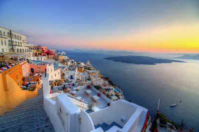 Who wants to hit Greece up like immediately? Group trip, let's go.