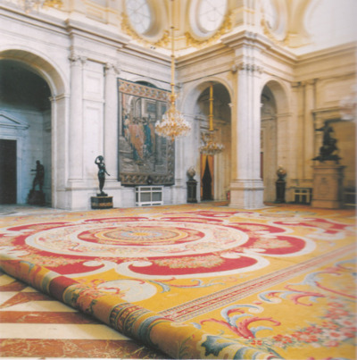 "Candida Hofer "" Palacio Real Madrid I, 2000"""