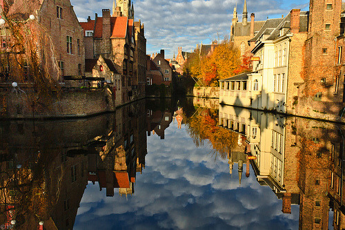 allthingseurope:  Reflections of Bruges (by Fletche)