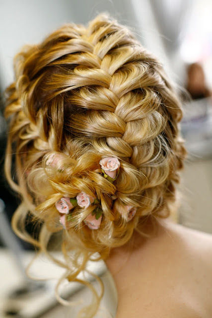Beautiful braids for your wedding day.