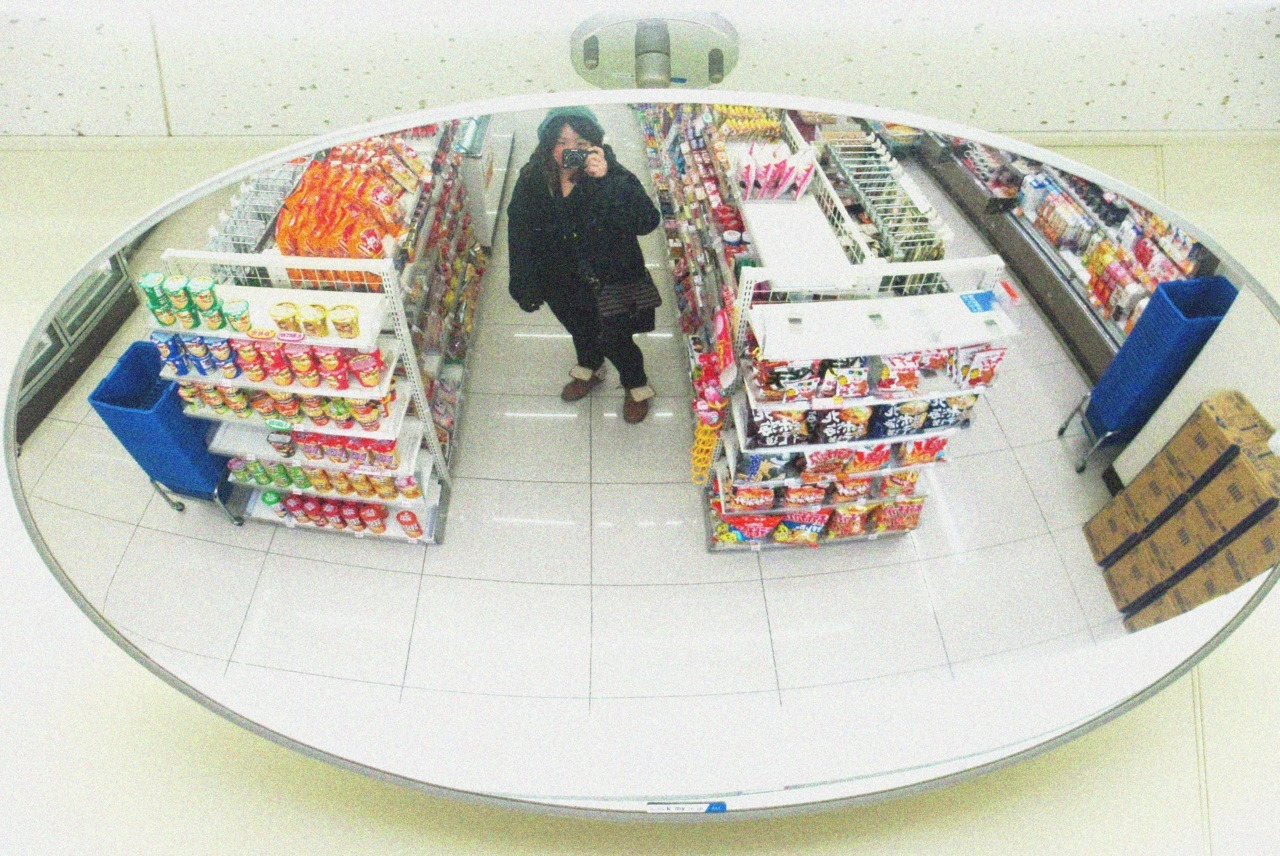 Here's me being a tool, taking a picture of myself in a convenience store in Tokyo. Ugh, I miss Japan… take me back.