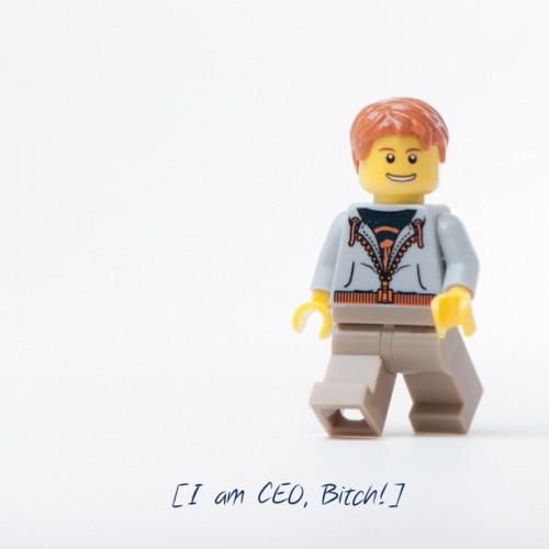 I am CEO, Bitch! (Taken with instagram)
