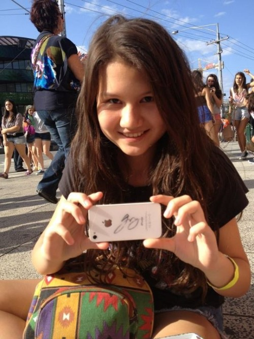 jai signed my iphone :)