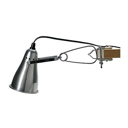 FAS Clamp Spotlight IKEA