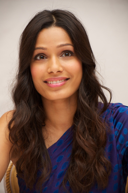Freida Pinto photoshoot for - Rise Of The Planet Of The Apes 2011