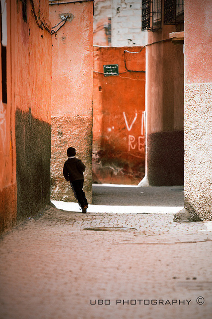 | ♕ |  A Boy in Marrakesh - Morocco  | by © superUbO