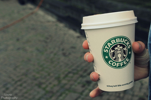 starbucks coffee . | Flickr - Fotosharing! on We Heart It. http://weheartit.com/entry/25819139
