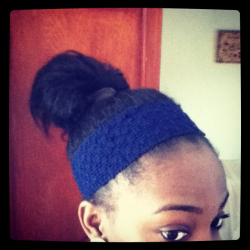 A messy bun…day
