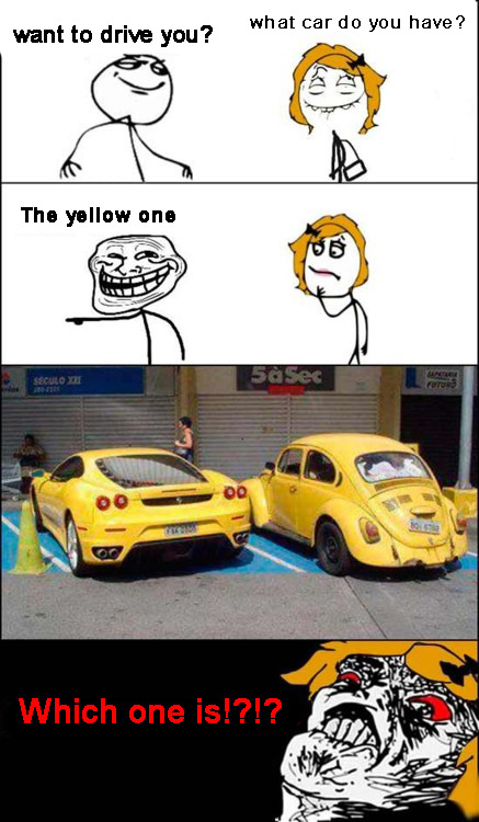 treleme:  The Yellow car. http://treleme.tumblr.com/