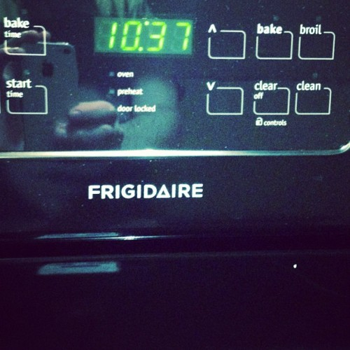 skeletonhandstheband:  my new stove is so witch house. #triangles (Taken with instagram)  Shut the front door. I just got the same new stove this past week. #eerie