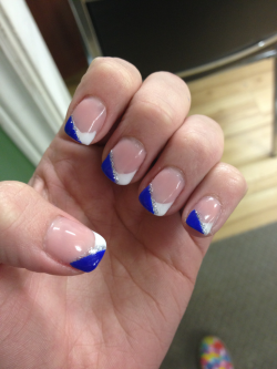 maddiej1998:  My nails :D