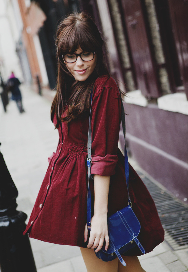 the-streetstyle:  Burgundy