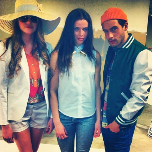 Stop it stop it guys you're to cool!! #styling #fashion #carolinegrane #fashionshow #photoshoot #mood #art #photo #hair #makeup #fashionpress #film #hair #makeup  (Taken with instagram)