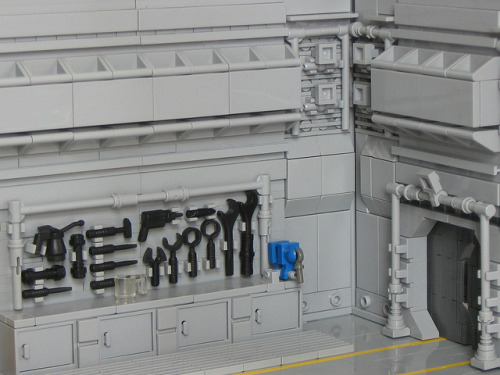 Tool Wall by Legoloverman on Flickr.