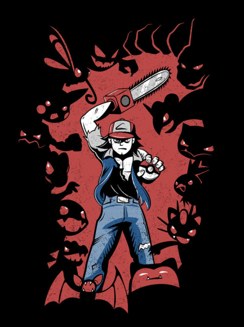 "Pokevil Dead - Gotta Kill 'Em All Created by Matthew J Parsons ""We just hacked up Pikachu with a chainsaw.  Does that sound fine to you?"""
