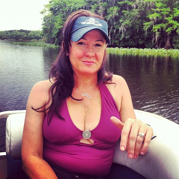 FL Girl (Taken with Instagram at Blue Spring State Park)