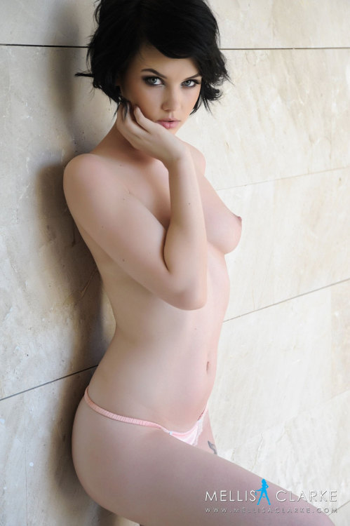Mellisa Clarke topless in a pink thong. Mellisa Clarke has the perfect body, or at least something really close to it. Every picture of Mellisa Clarke topless is an instant winner.