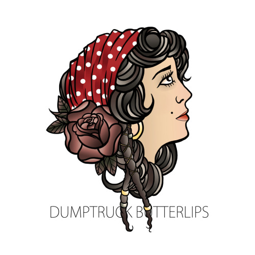 Dumptruck Butterlips T-shirt Design
