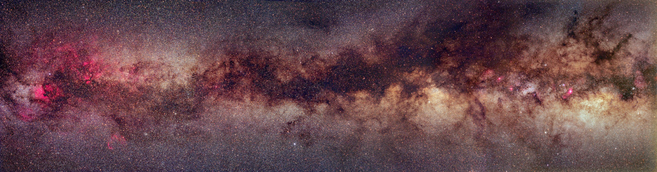 n-a-s-a:  A Milky Way Band  Credit & Copyright: John P. Gleason, Celestial Images