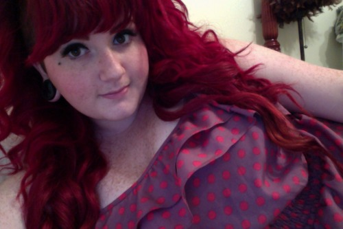 Putting a dress on to just lie in bed all day.