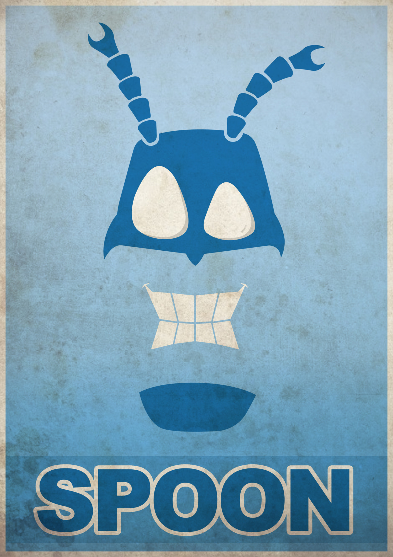 The Tick - Poster by Hector Bustnuts
