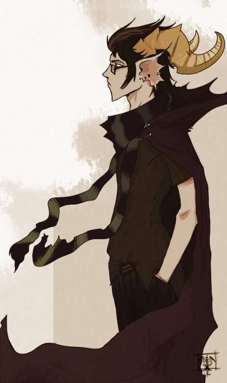 hellasafety:  karismacake:  eridan ampora by =Spectrafied  this is a really interesting design