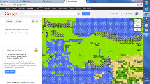 Google Maps'da Final Fantasy esintileri…