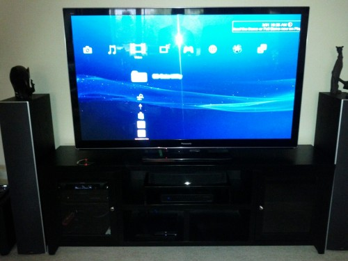 My new 65-inch toy!