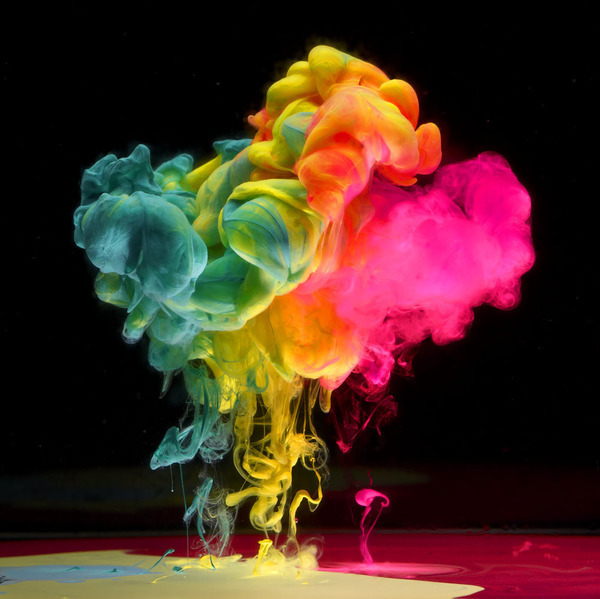 gaksdesigns:  Paint Dropped In Water by Mark Mawson