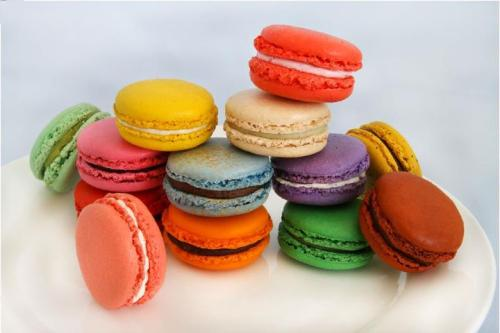 French Macaroons from Bottega Louie downtown L.A.