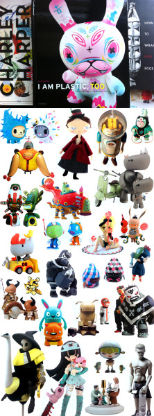 "More from Kid Robot: ""I AM PLASTIC, TOO; The Next Generation of Designer Toys"" 368 pages HC"