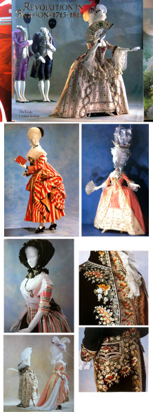 """Revolution in Fashion: 1715-1815"" 18th century Fashion from the Kyoto Costume Institute."