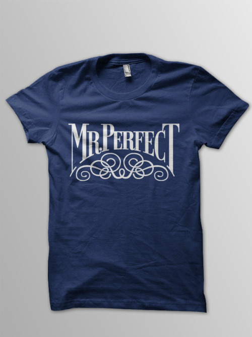 "Mr. PerfectT-Shirt Design Happy WrestleMania 28 Eve, folks. I thought back to some of my favorite wrestlers growing up as a kid, and one of the first to come to mind was Mr. Perfect. He had one of my favorite gimmicks, whether he was face or heel, and he was a gifted in-ring performer. I decided to recreate his iconic logo, and put it on a t-shirt. You can purchase this ""absolutely perfect"" t-shirt right here."