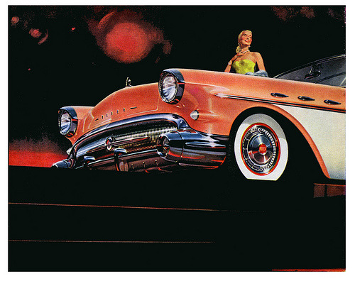 The Glamourous 1957 Buick (by paul.malon)