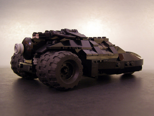 Batman Tumbler by Legohaulic on Flickr.