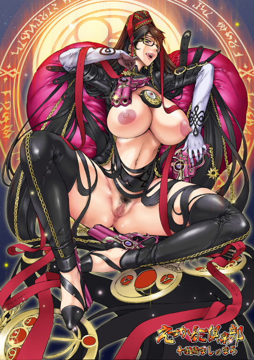metallinghentaicollection:  Bayonetta