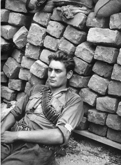 French Resistance fighter, 1944.