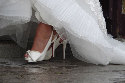 White Shoes   http://www.etsy.com/listing/89433448/white-shoe-service-wedding-shoes-bride